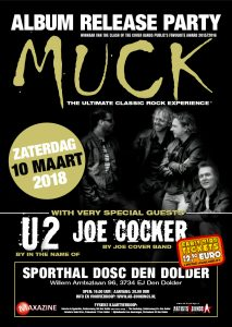 """MUCK release party """"Burning light"""""""
